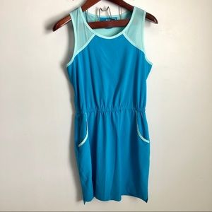 Title Nine Athletic Dress Blue Gym M